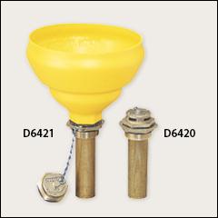 Polyethylene funnel, fill vent - Drum deheaders, funnels