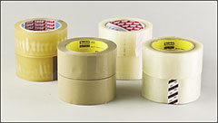 Polypropylene and polyester tapes - Tape, film, paper