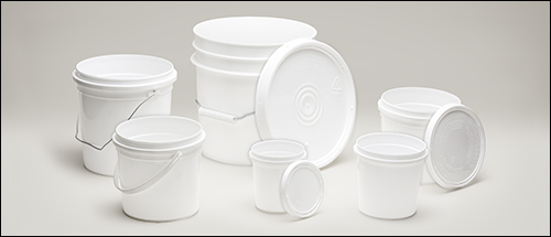 Pry-off tubs - Poly tubs, heavy-duty