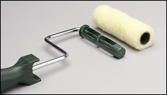 Roller covers and frames, 3/4 inch  size - Roller covers, frames