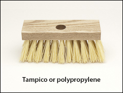 Roof brushes - Scrub brushes