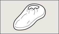 Shoe covers, Tyvek - Sleeves, shoe covers