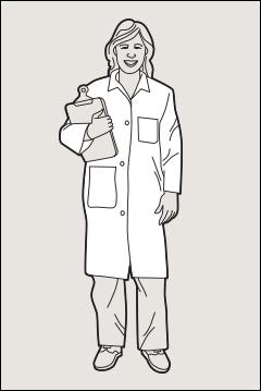 Shop coats, PosiWear BA - Shop coats