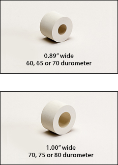 Small size rubber rolls