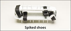 Spiked shoes - Misc. layup, sprayup