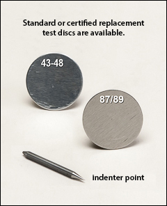 Standard test discs - Barcol hardness tester (impressor)