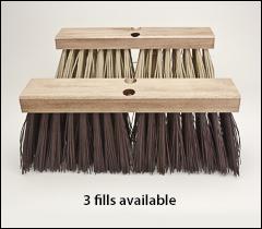 Street brooms - Push brooms, brooms
