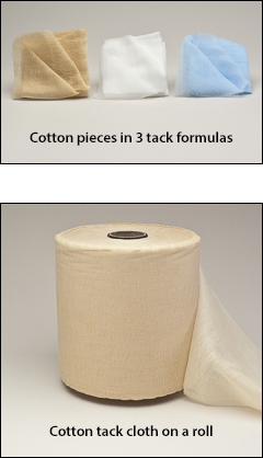 Tack cloth, cotton - Tack cloth, rags, cheesecloth