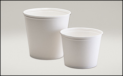 Uncoated, untreated tubs - Paper tubs