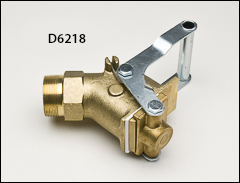 Wesco 2 inch  brass gate valve - Faucets for flammables