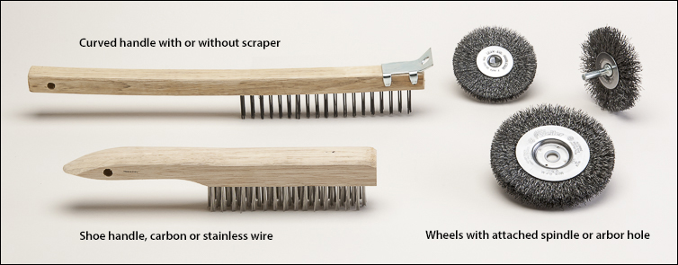 Wire brushes - Wire brushes and wheels
